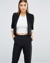 AX Paris Waterfall Cropped Jacket