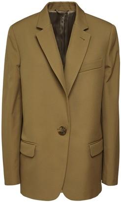 ATTICO Oversize Stretch Gabardine Jacket