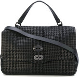 Zanellato Varietà Postina Leather Shoulder Bag
