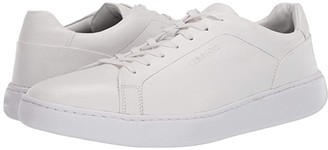 Calvin Klein Falconi (White Tumbled Smooth) Men's Shoes