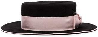 Ruslan Baginskiy ribbon-trimmed boater hat