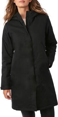 Bernardo Hooded Windproof & Water Resistant Insulated Raincoat