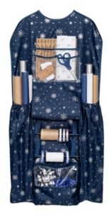 Honey-Can-Do Deluxe Hanging Gift Wrapping Paper Organizer