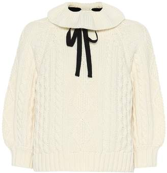 RED Valentino Virgin wool sweater