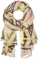 Pieces Women's Scarf - White -