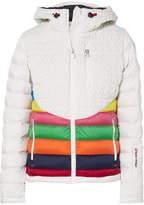 Perfect Moment - Vale Hooded Ski Jacket - White