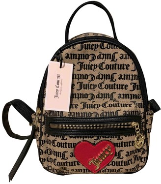 Juicy Couture Brown Cloth Backpacks