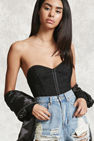 Forever 21 FOREVER 21+ Sweetheart Lace Corset