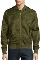 Members Only MA-1 Solid Bomber Jacket