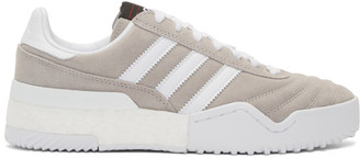 Adidas Originals By Alexander Wang Taupe B-Ball Soccer Sneakers
