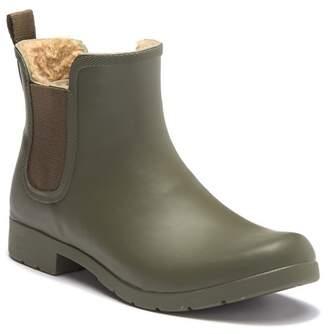 Chooka Eastlake Chelsea Faux Fur Waterproof Boot
