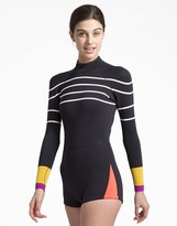 Cynthia Rowley Colorblock Stripe Wetsuit