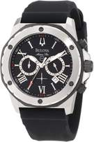 Bulova Men's 98B127 Marine Star Dial Strap Watch