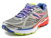 Saucony Omni 14 Women Round Toe Synthetic Silver Running Shoe.