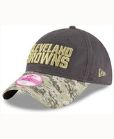 New Era Women's Cleveland Browns Salute To Service 9TWENTY Cap