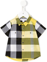 Burberry checked shirt - kids - Cotton - 9 mth