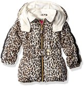 Pink Platinum Girls' Infant Cheetah Print Puffer Jacket