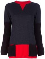 Marni colour block sweater