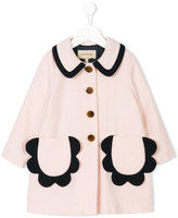 Hucklebones London petal pocket coat