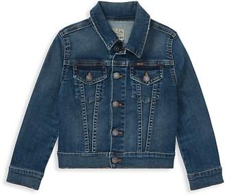 Ralph Lauren Girl's Denim Trucker Jacket