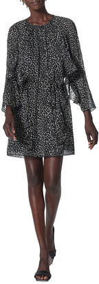 Joie Julisha Ditsy-Print Mini Dress