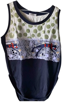 Tsumori Chisato Navy Cotton Top for Women
