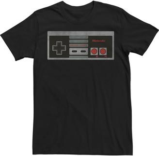 Nintendo Licensed Character Men's Controller Tee
