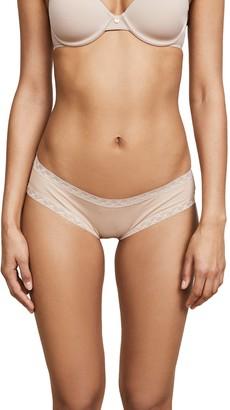 Natori Women's Bliss Cotton Girl Brief Panty Cafe XS