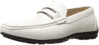 Stacy Adams Men's Lazar-Moc Toe Bit Slip-on Loafer