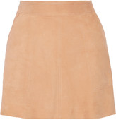 Joie Graton suede mini skirt