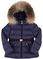 Moncler Kids' Fur-Trimmed Down-Quilted Coat