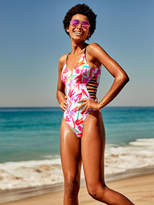 PINK Strappy Side One-Piece