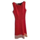 Prada Red Tweed Dress