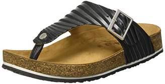 Haflinger Women's Conny Flip Flops, Black (Schwarz 886), (36 EU)