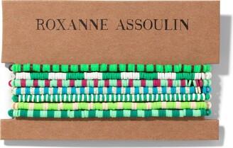 Roxanne Assoulin Color Therapy Green bracelet set