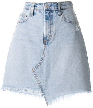 Nobody Denim Piper Skewed skirt