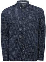 M&Co D-Struct Paisley Print Shirt