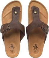Original Penguin Mens Peak Sandals Brown