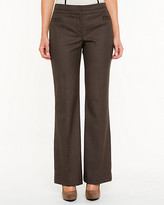 Le Château Modern Fit Slightly Flared Textured Pant