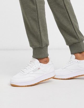 Reebok Classic Club C Double in White