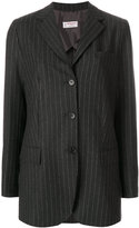 Alberto Biani striped fitted blazer