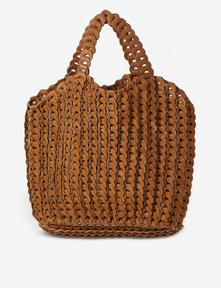 The Conran Shop Bembien Nola woven leather tote bag