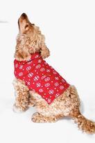 Boohoo Isabella Snowflake Dog Christmas Jumper