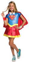DC NEW Superhero Girl Supergirl Deluxe Costume size 6-8