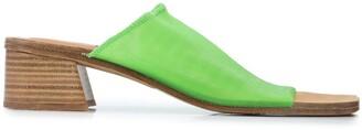 Miista Seafoam net sandals