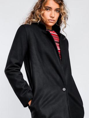 Victoria's Secret The People Midnight Coat in Black