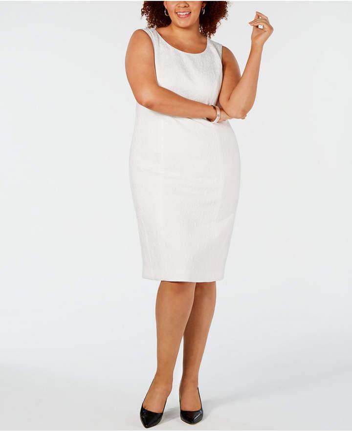 9b36580311 Plus Size Sheath Dress - ShopStyle