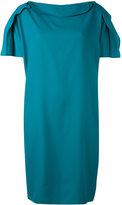 Gianluca Capannolo draped detail dress - women - Viscose - 44