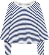 MM6 MAISON MARGIELA Striped Stretch-jersey Top - medium