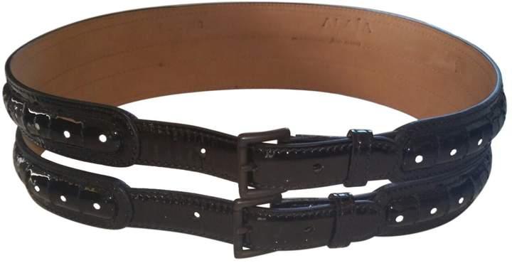Alaia Black Patent leather Belts